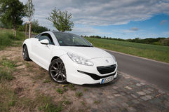 Peugeot RCZ THP 200 hp Royalty Free Stock Photo