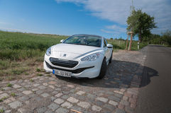 Peugeot RCZ THP 200 hp Stock Images