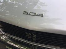 Peugeot rocznika samochód zdjęcia stock