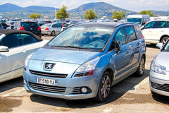 Peugeot 5008 Royalty Free Stock Photo