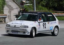 Peugeot 106 samlar Royaltyfria Foton