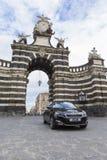 Peugeot samochód na handlowej fotografii obraz stock