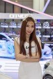 Peugeot samochód przy Tajlandia zawody międzynarodowi silnika expo 2016 Zdjęcie Royalty Free