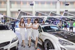 Peugeot samochód przy Tajlandia zawody międzynarodowi silnika expo 2016 Obraz Stock