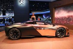 Peugeot Samochodowy Onyksowy pojęcie obraz royalty free