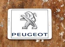 Peugeot samochodu logo Obrazy Stock