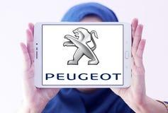 Peugeot samochodu logo Zdjęcie Royalty Free