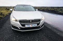 Peugeot 508 Schalter-vorverschönerung Lizenzfreie Stockfotografie