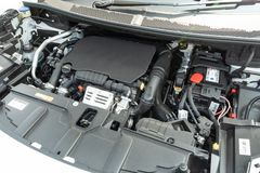 Peugeot 3008 2018 silników fotografia royalty free