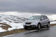 Peugeot skrzyżowanie SUV zdjęcia royalty free