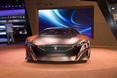 Peugeot sportów Onyksowy samochód zdjęcia stock