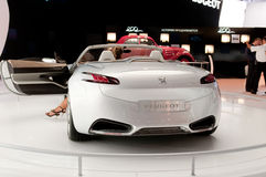Peugeot SR1 de auto van het Concept Stock Afbeelding