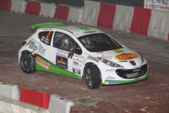 Peugeot 207 Super2000 Stockbild