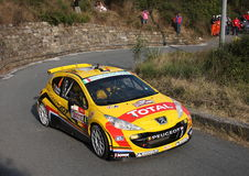 Peugeot 207 super 2000 Stock Image
