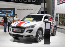 Peugeot 4008 suv car Stock Images