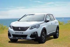 Peugeot 3008 suv sportów pojazdu użytkowego samochód obraz stock