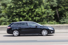 Peugeot 508 SW Estate on the road Stock Photography