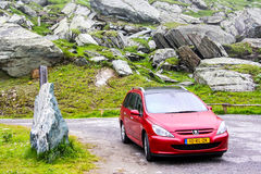 Peugeot 307SW Royalty Free Stock Photography