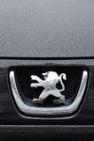 Peugeot symbol Royalty Free Stock Photography