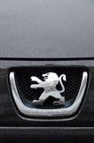 Peugeot symbol Royalty Free Stock Photography