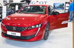 Peugeot 508 stock image