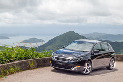 Peugeot 308  2016 Test Drive Day Royalty Free Stock Photo