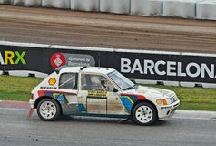 Peugeot 205 Turbo 16 Obraz Stock