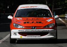 Peugeot 206 xs 16 valves Royalty Free Stock Images