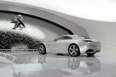 Peugeot ZWX - de Genebra mostra 2010 de motor Imagens de Stock