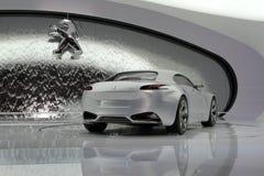 Peugeot ZWX - de Genebra mostra 2010 de motor foto de stock