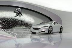 Peugeot ZWX - salone dell'automobile 2010 di Ginevra Fotografia Stock Libera da Diritti