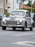 Peugeout 203大型高级轿车1955年 免版税库存图片