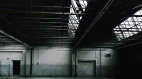 Peugot Garage Royalty Free Stock Photo