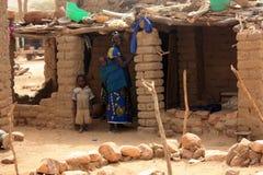 peul de famille Images libres de droits