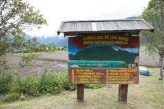 Peulla-Stelle, Chile lizenzfreie stockfotografie