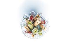 Peulvrucht met genetisch gewijzigde Tarwe, Installatiecel Stock Fotografie