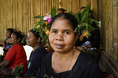 Peuple autochtone ou tribal malaisien Images stock