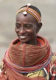 Peuple de l'Afrique Photographie stock