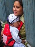 Peuple du Népal Photo stock