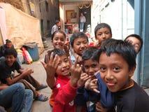 Peuple du Népal Photographie stock libre de droits