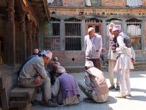 Peuple du Népal Photo libre de droits