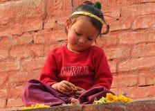 Peuple du Népal Image stock