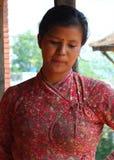Peuple du Népal Images libres de droits