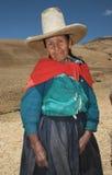 Peuple du Pérou Photos libres de droits