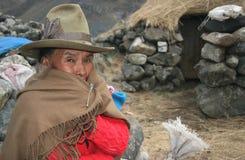 Peuple du Pérou Image libre de droits