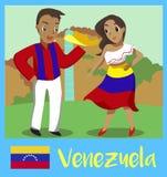Peuple du Venezuela Photo libre de droits