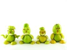 Peuples des fruits des coings photo stock