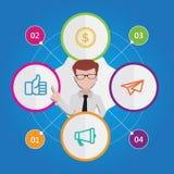 Peut être employé pour des bannières de Web, le marketing et des matériel promotionnels Images libres de droits