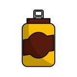 peut l'icône d'isolement par boisson Photographie stock