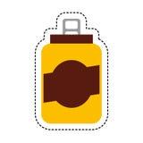 peut l'icône d'isolement par boisson Photographie stock libre de droits